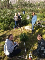 3rd year plant ecology field camp